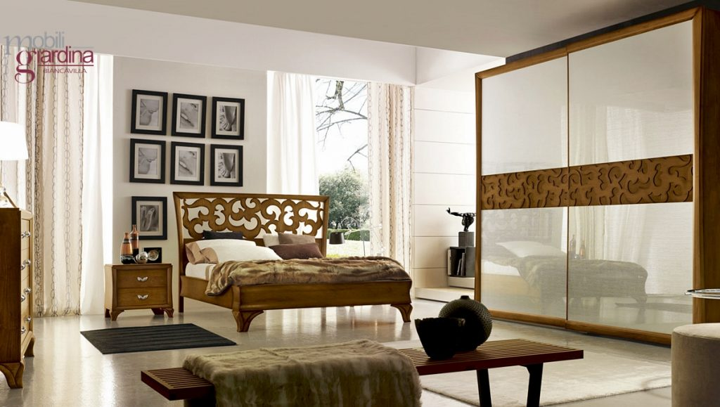 Camera da letto accademia del mobile florenzia arredamento a catania mobili giardina - Accademia del mobile ...