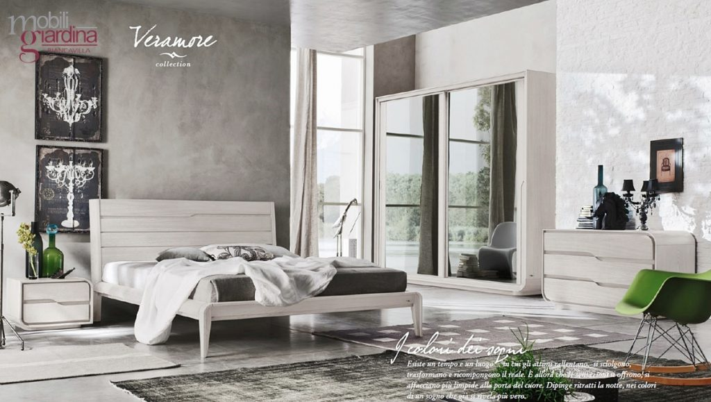 Camera da letto accademia del mobile veroamore arredamento a catania per la casa e ufficio - Accademia del mobile infinity ...