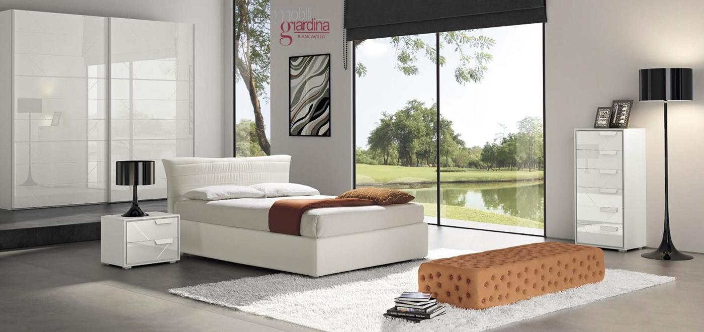Latest camera da letto collezione notte moderna arredamento a catania per la casa e ufficio - Camere da pranzo moderne ...