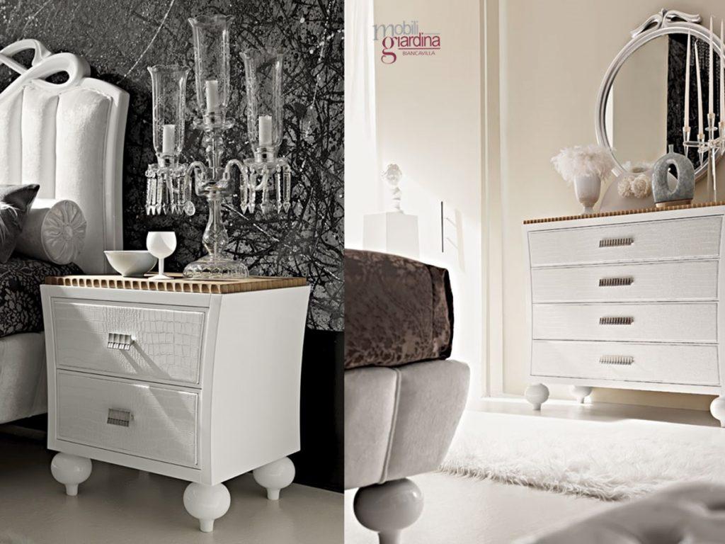 Camera Da Letto Modello Glamour : Camera da letto rtl mobili mythos glamour arredamento a catania