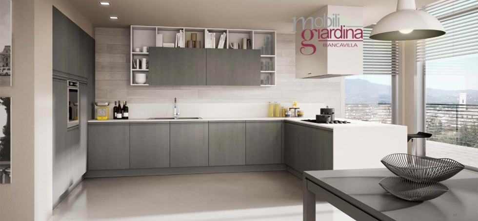 Cucina berloni canova arredamento a catania mobili giardina - Berloni cucine moderne ...