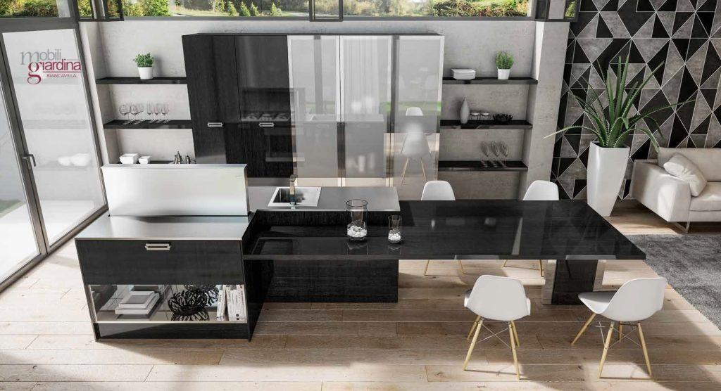 Cucina berloni soho arredamento a catania per la casa e ufficio mobili giardina - Berloni cucine moderne ...