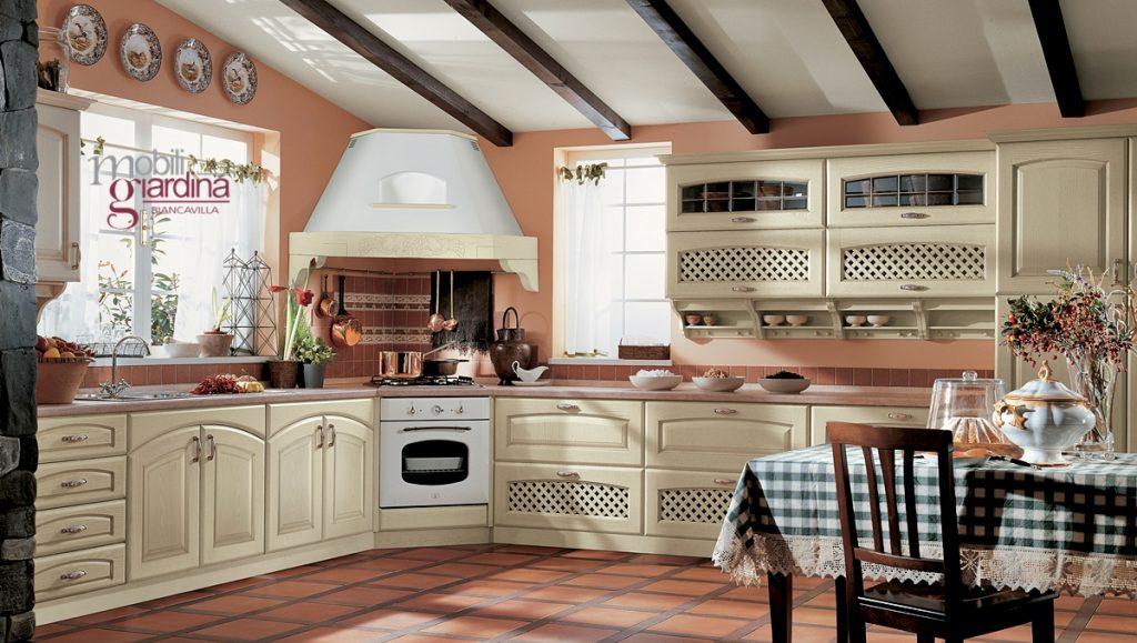 Cucina classica ala elena arredamento a catania per la for Foto classiche