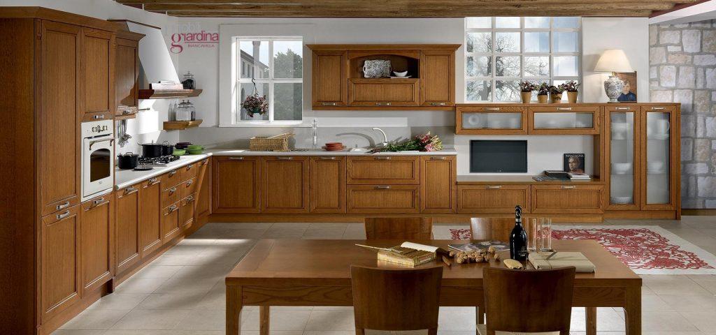 Cucina classica arredo3 opera arredamento a catania - Arredo cucina classica ...