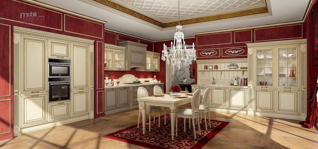Cucine classiche arredo 3 nella gallery in alto ti for Cucina verona arredo 3