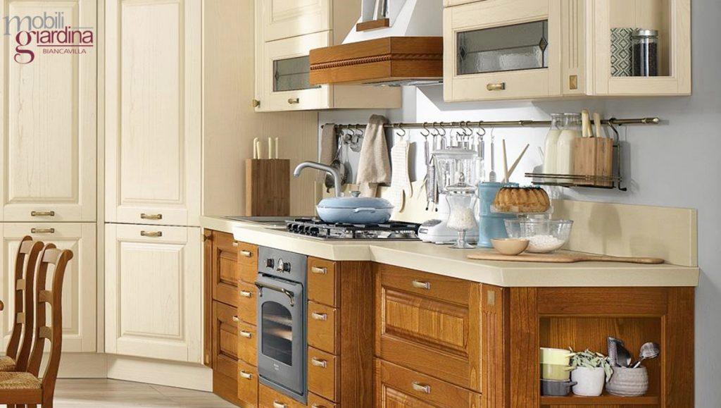 Cucina classica lube laura arredamento a catania per la casa e ufficio mobili giardina - Cucina lube classica ...