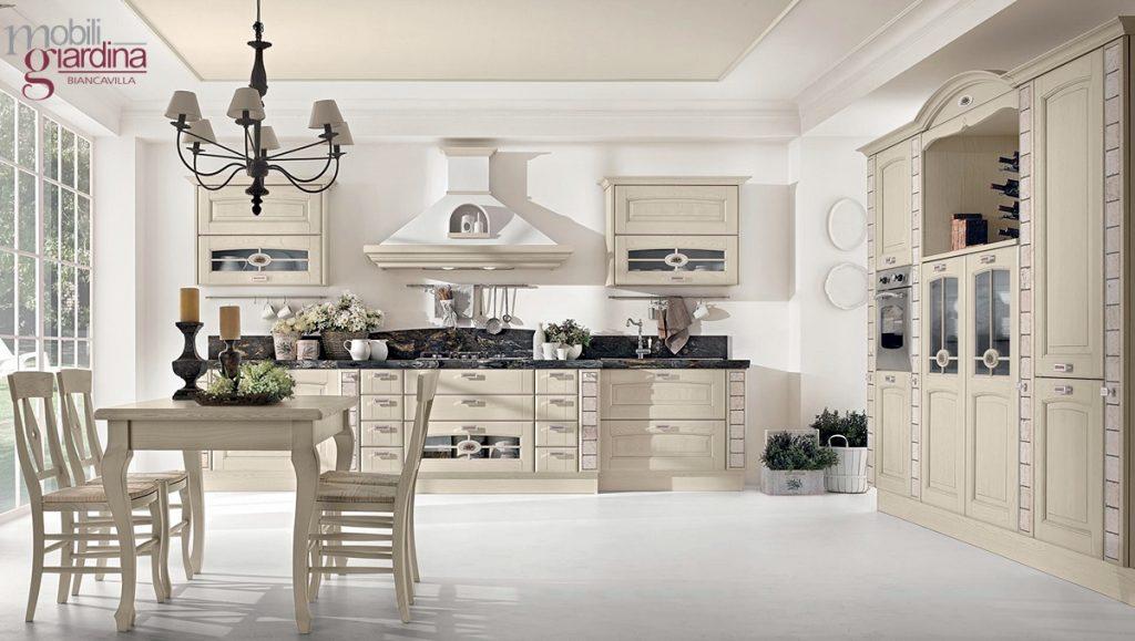 Cucina classica lube veronica arredamento a catania - Arredamento cucina classica ...