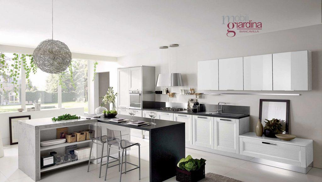 Cucina contemporanea stosa beverly arredamento a catania per la casa e ufficio mobili giardina - Cucina classica contemporanea ...