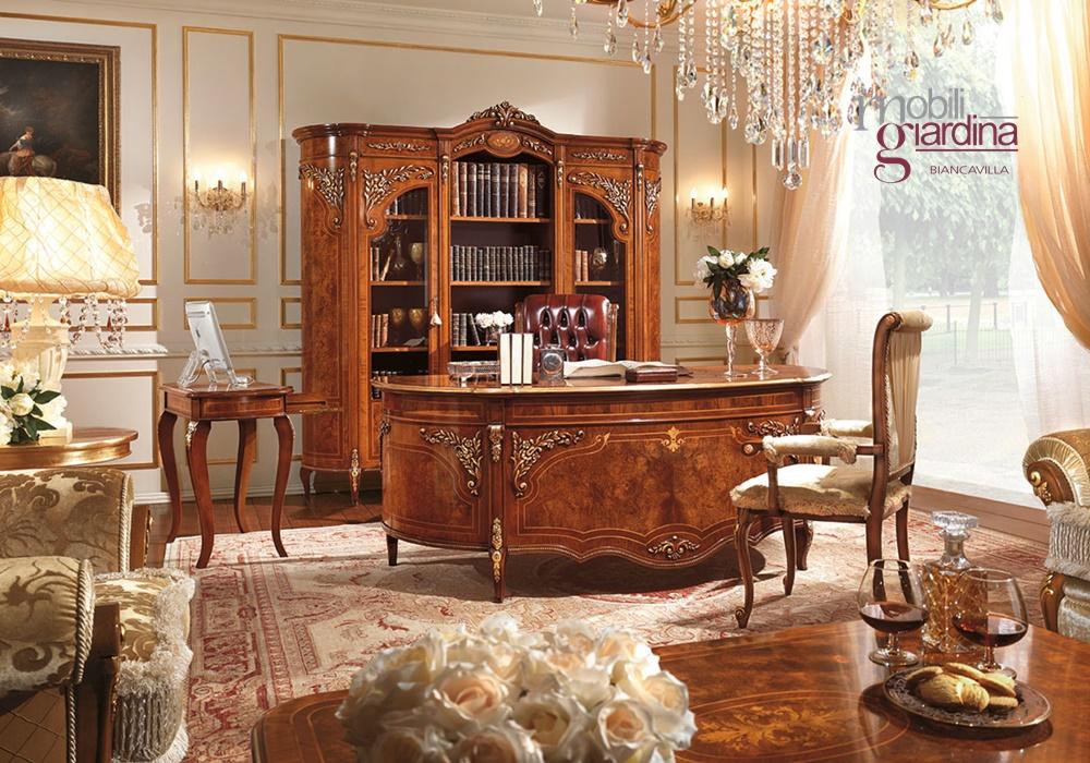 Living classico barnini oseo reggenza luxury arredamento for Mobili classici
