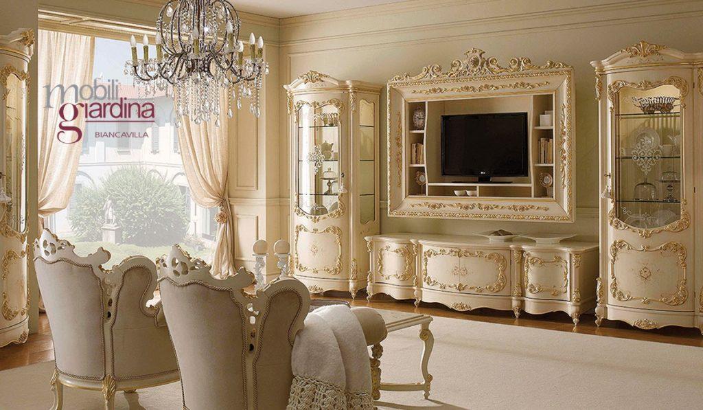 Armadi Classici Ghezzani.Living Classico Ghezzani Living Arredamento A Catania Per
