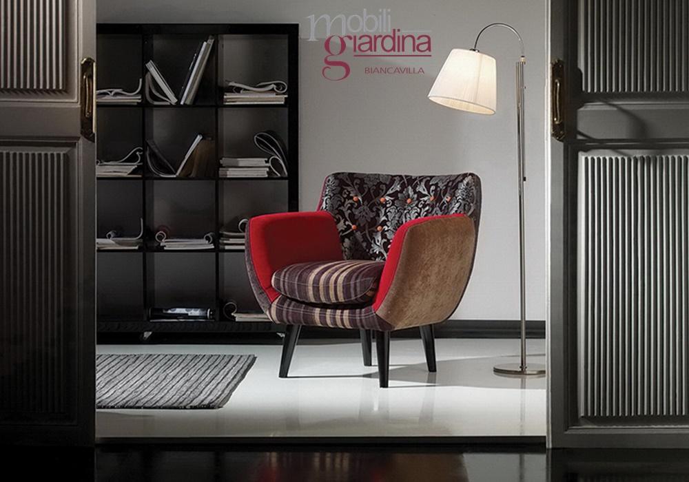 Living moderno abitare giovane divani e poltrone for Abitare mobili palermo