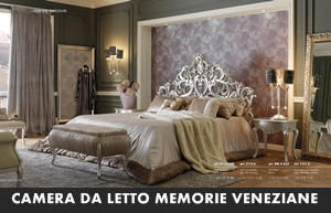 CAMERE DA LETTO GIORGIO CASA MEMORIE VENEZIANE - Arredamento a ...