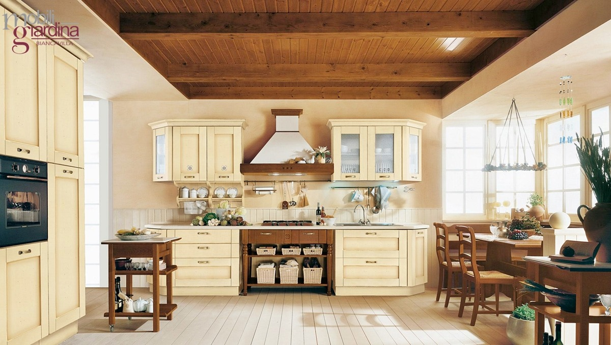 Arredamenti catania cucine camere da letto complementi mobili giardina for Arte povera cucine