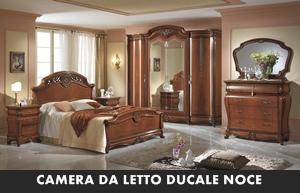 CAMERA DA LETTO MOBILPIU\' DUCALE NOCE – Arredamento a Catania per la ...