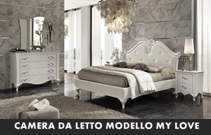 Camera Da Letto Modello Glamour : Camera da letto rtl mobili mylove arredamento a catania per la