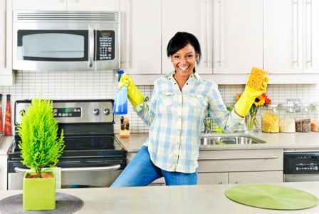 Pulizia Mobili Cucina Legno : Come pulire una cucina mobili giardina