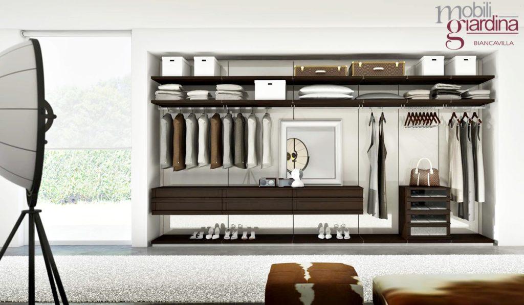 Cabine armadio moderni veneran arredamento a catania per la casa e ufficio mobili giardina - Cabine armadio moderne ...