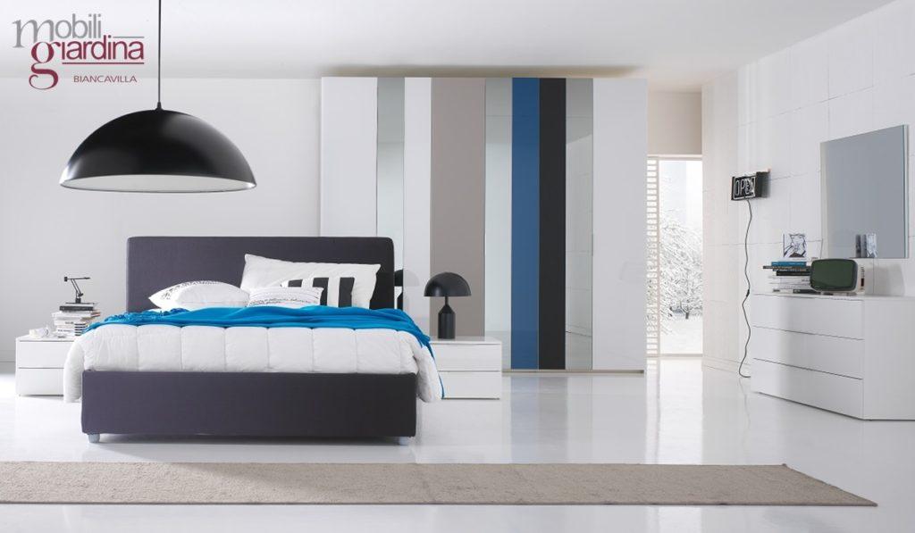 Camera da letto cecchini italia collezione basic zerodue arredamento a catania per la casa e - Cecchini mobili ...