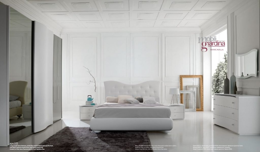 Camera da letto cecchini italia collezione mediterranea apollo arredamento a catania per la - Cecchini mobili ...