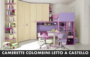 Letto A Castello Colombini.Camerette Colombini Golf Letti A Castello Arredamento A Catania