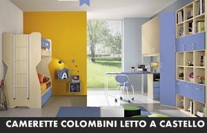 Letti A Castello Colombini.Camerette Colombini Eresem Letto A Castello Arredamento A