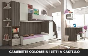 Letti A Castello Colombini.Camerette Colombini Target Letti A Castello Arredamento A