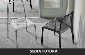 Living moderno target point sedie da cucina sedia futura