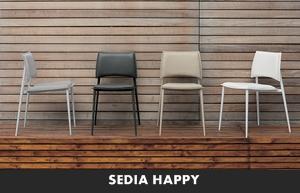 LIVING MODERNO TARGET POINT SEDIE DA CUCINA SEDIA HAPPY