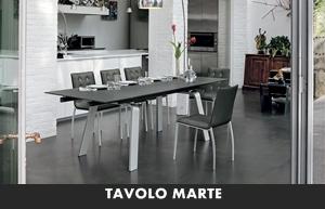LIVING MODERNO TARGET POINT TAVOLI DA SALA TAVOLO MARTE ...