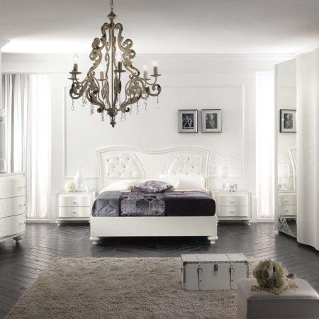 Lampadari camere da letto, la luce giusta per la zona notte Made in Italy