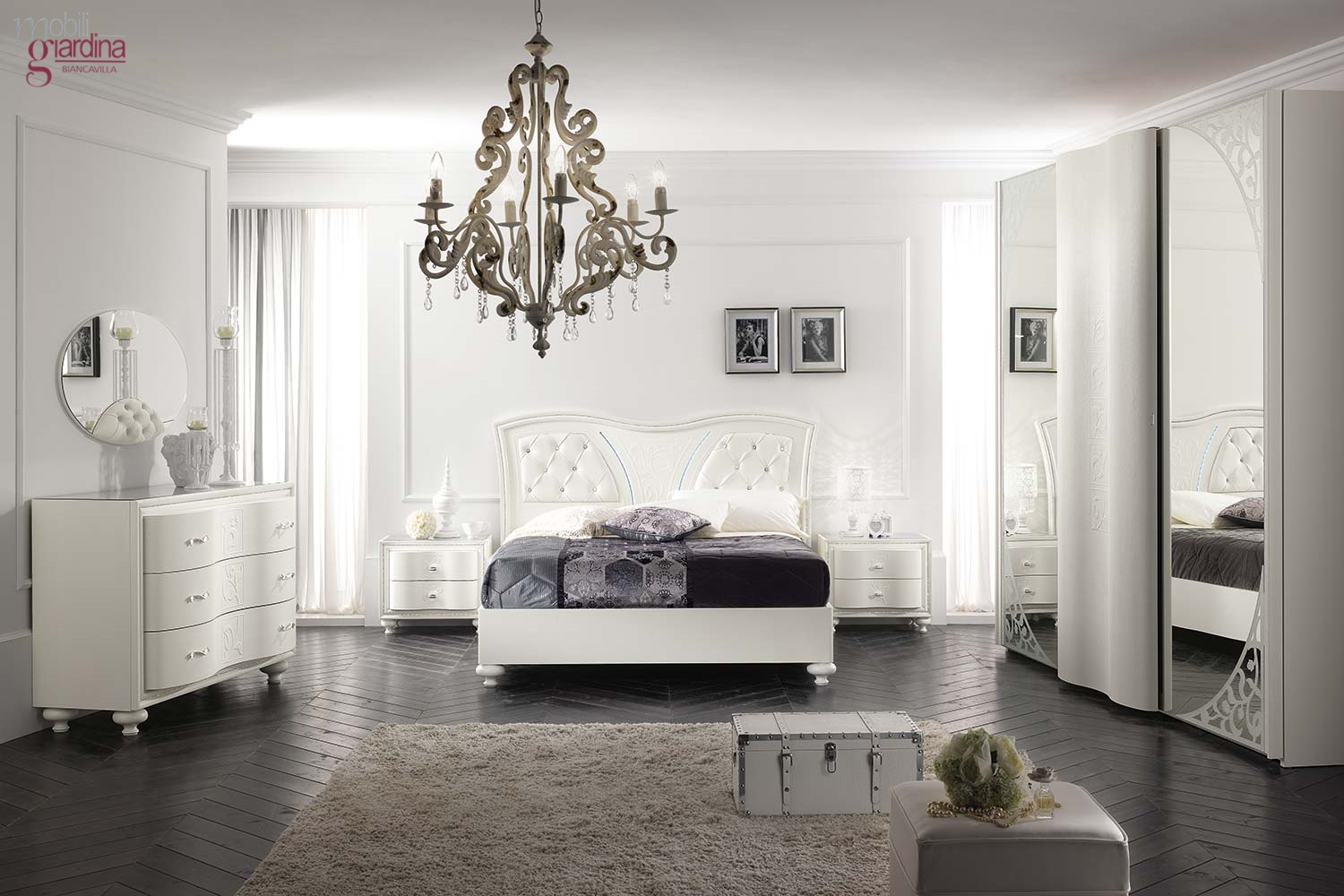 Lampadari camere da letto la luce giusta per la zona notte made in