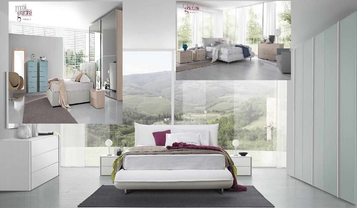 Camere da letto stile contemporaneo mobili giardina lo for Stile contemporaneo mobili