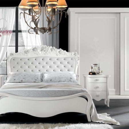 Colori per camere da letto Mobili Giardina, il fascino intramontabile del total white