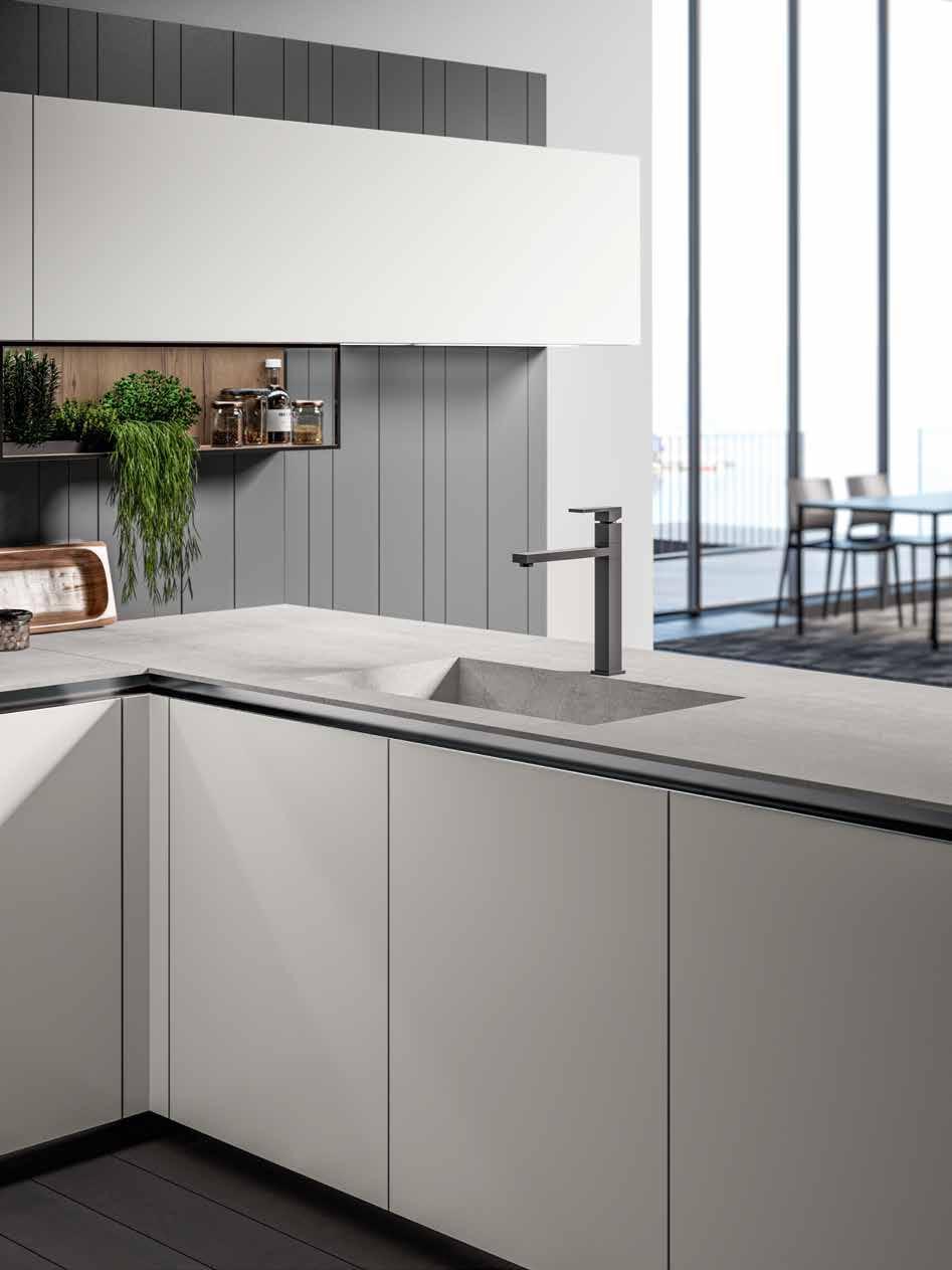 Arredo3 Cucina Glass Arredamento A Catania Per La Casa E Ufficio Mobili Giardina