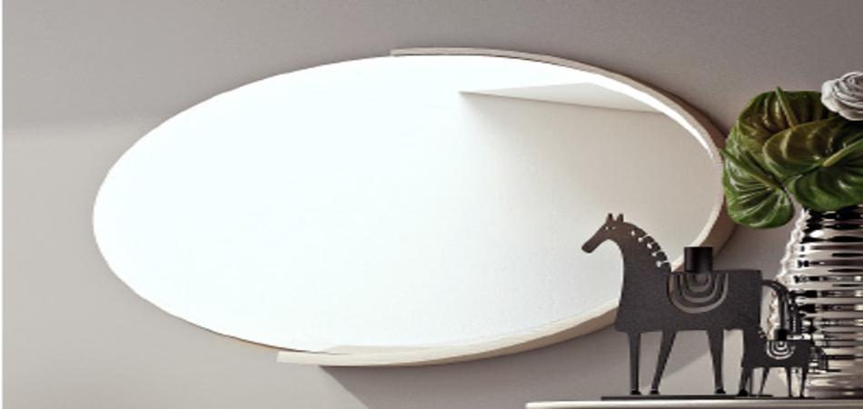 Specchiera ovale art LD C 141
