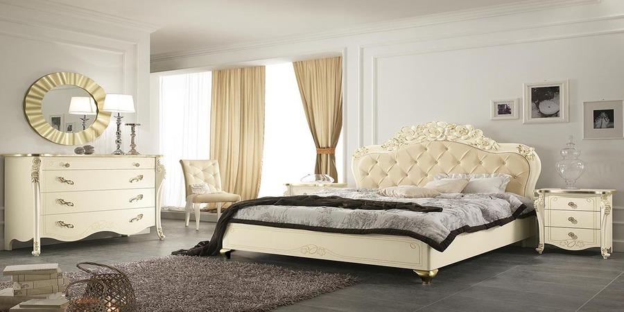 Camera da letto Viola colore Beige di Mobilpiu 05