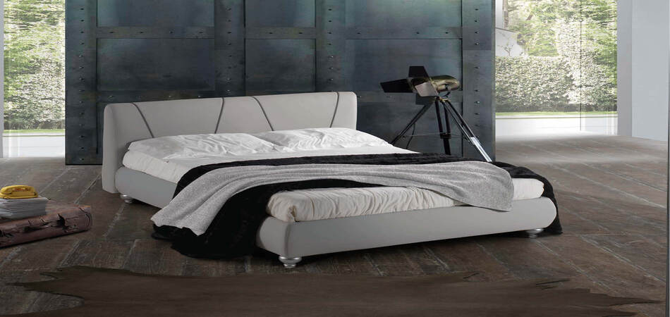 letto contemporaneo prestige matrimoniale giroletto 28bombato 1 1