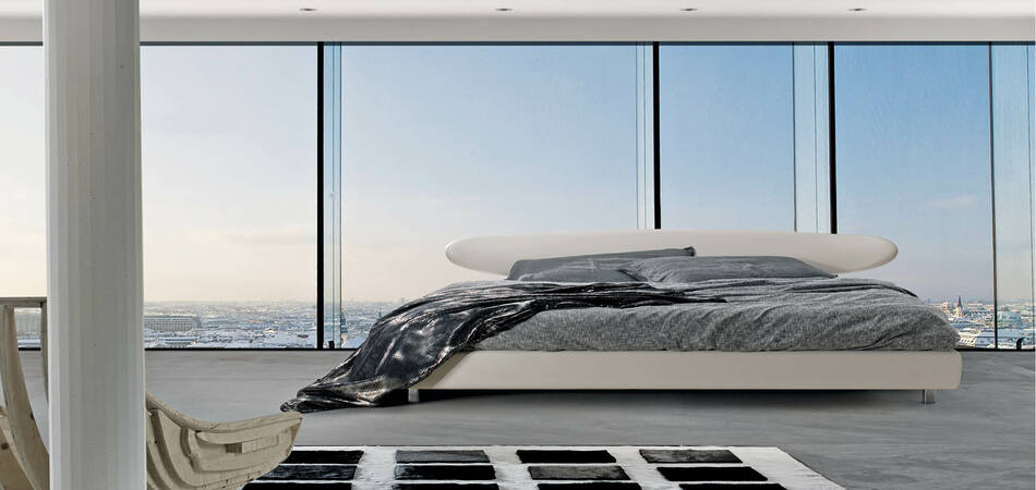 letto moderno surf matrimoniale giroletto 22