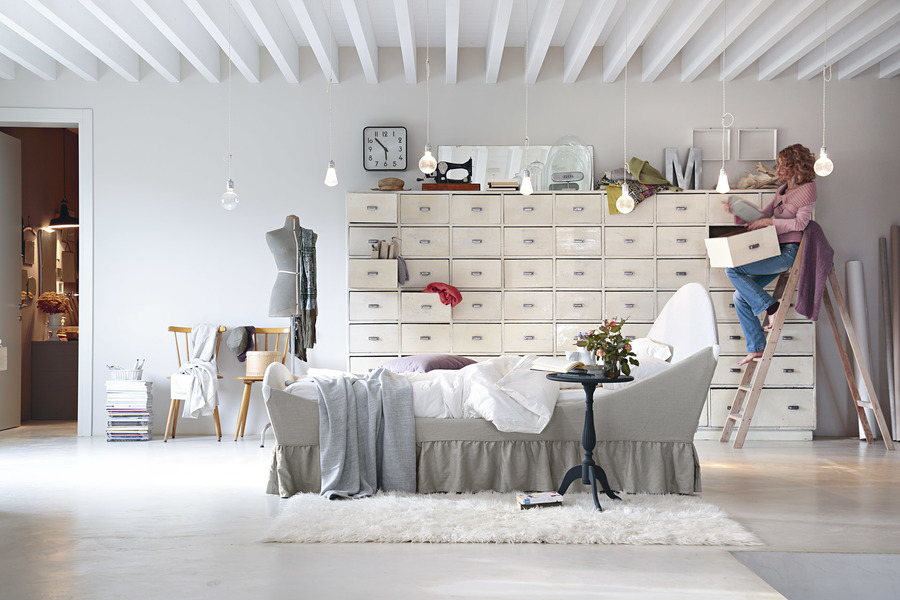 COLLEZIONE SHABBY CHIC NOCTIS LETTO LULLABY 1