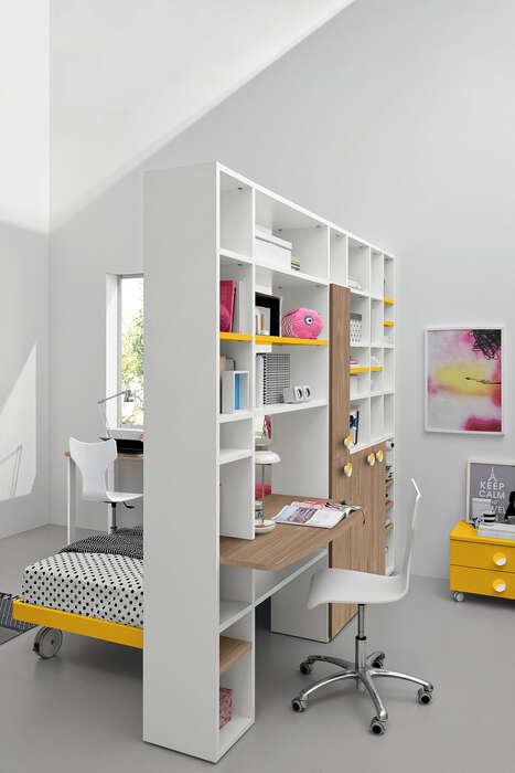 Colombini Casa Cameretta Golf Ponti libreria con scrivania 246
