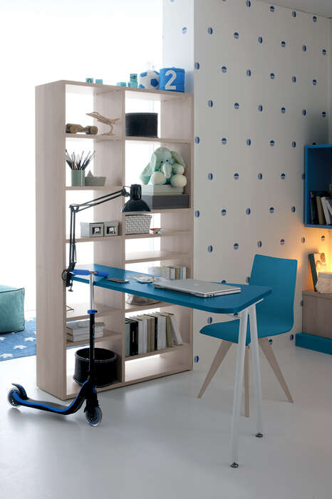 Colombini Casa Cameretta Golf libreria con scrivania 056