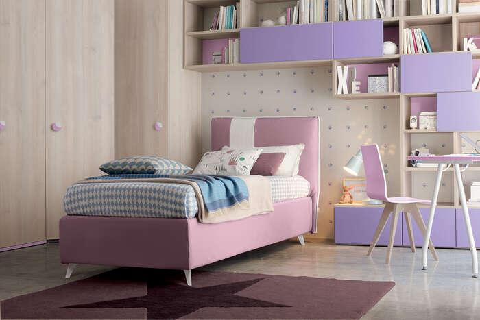 Colombini Casa Cameretta Golf lilla e rosa 091 b