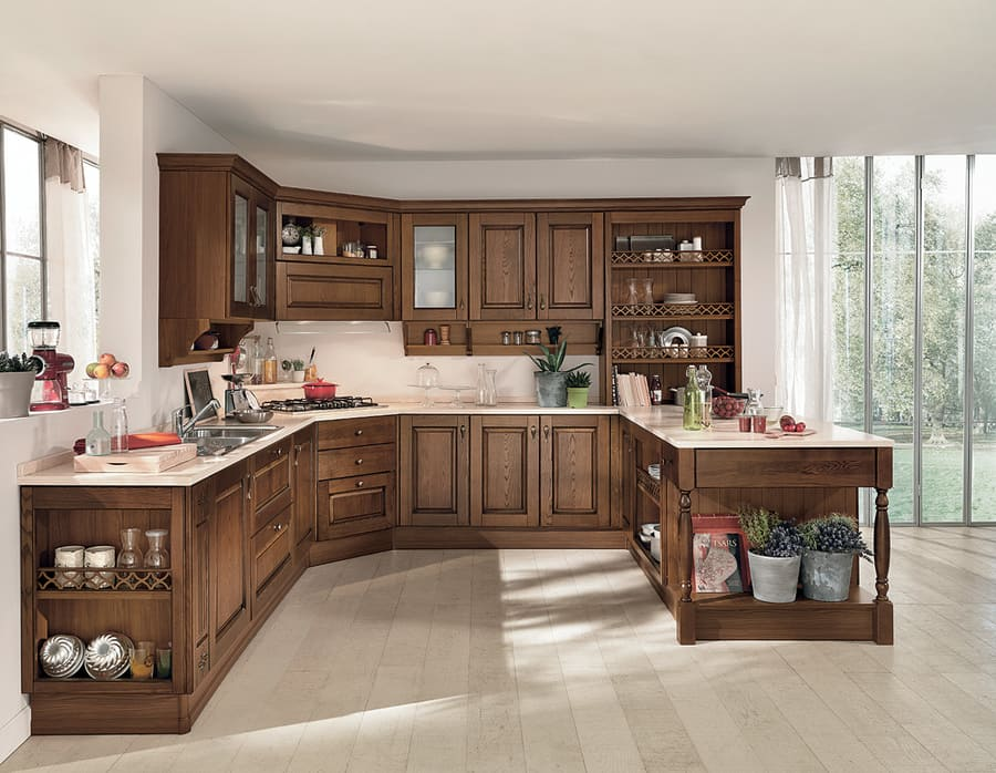 Colombini Casa Cucina Classica Armonia composizione tipo 69