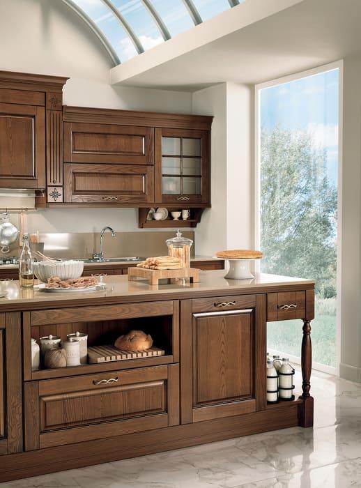 Colombini Casa Cucina Classica Armonia con isola elegante 51a
