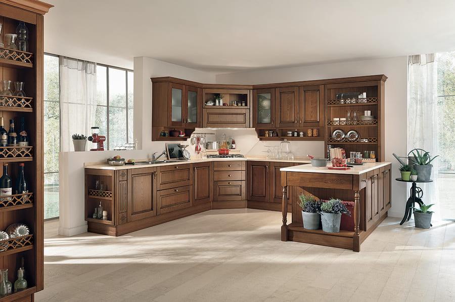 Colombini Casa Cucina Classica Armonia legno tradizionale 66 67