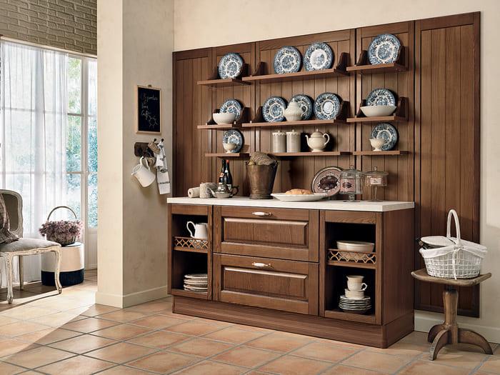 Colombini Casa Cucina Classica Armonia lineare elementi giorno tradizionali 31
