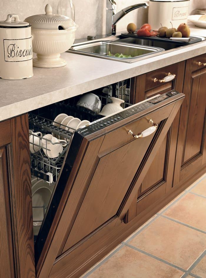 Colombini Casa Cucina Classica Armonia lineare sportello lavastoviglie 42c