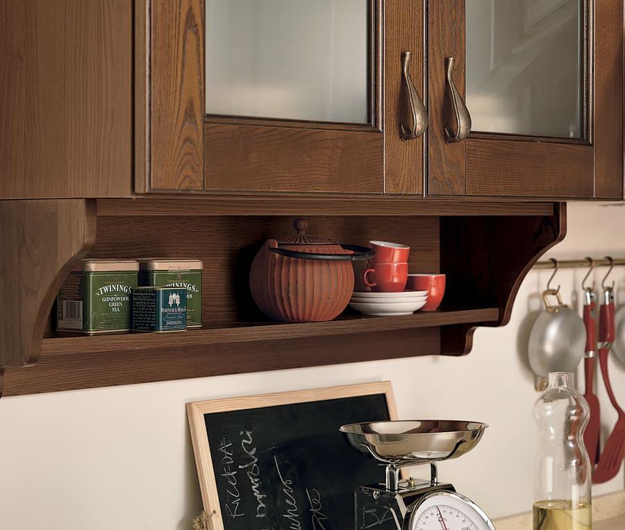 Colombini Casa Cucina Classica Armonia sportelli con maniglie classiche 75