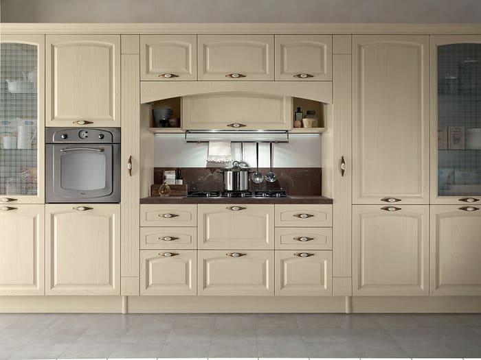 Colombini Casa Cucina Classica Mida avorio con maniglie 47