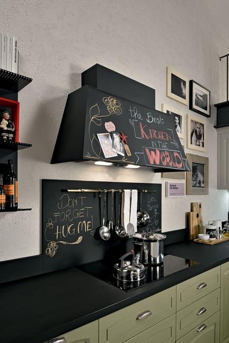Colombini Casa Cucina Classica Mida cappa con lavagna 100
